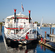 The Electric Riverboat Angela Louise In Newport Beach Harbor