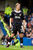 Photo: Daniel Hambury.<br />Chelsea v Blackburn Rovers. The Barclays Premiership.<br />29/10/2005.<br />Blackburn's Morten Gamst Pedersen.