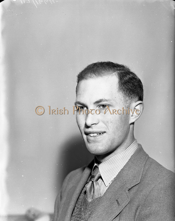 26/01/1953<br /> 01/26/1953<br /> 26 January 1953<br /> Risteard de Paor, civil servant and author of plays and short stories in gaelic and english.