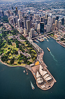 Sydney City Centre, Royal Botanic Gardens & Opera House