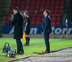 St Johnstone manager Tommy Wright after Ross County's fourth goal. St Johnstone 2 v 4 Ross County. SPFL Ladbrokes Premiership game played 19/11/2016 at St Johnstone's home ground, McDiarmid Park.