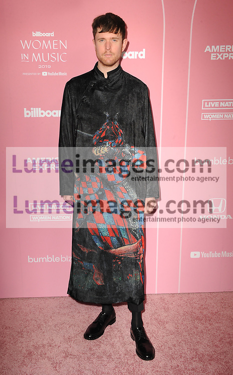 James Blake at the 2019 Billboard Women In Music held at the Hollywood Palladium in Hollywood, USA on December 12, 2019.