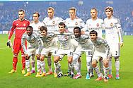 CSKA team group - Manchester City vs. CSKA Moscow - UEFA Champions League - Etihad Stadium - Manchester - 05/11/2014 Pic Philip Oldham/Sportimage