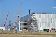 Nederland, Eemshaven,15-4-2015Bouw Google Dataport Eemshaven. De nieuwbouw van het datacentrum wordt gebouwd door de bouwgroep ISG.FOTO: FLIP FRANSSEN/ HOLLANDSE HOOGTE