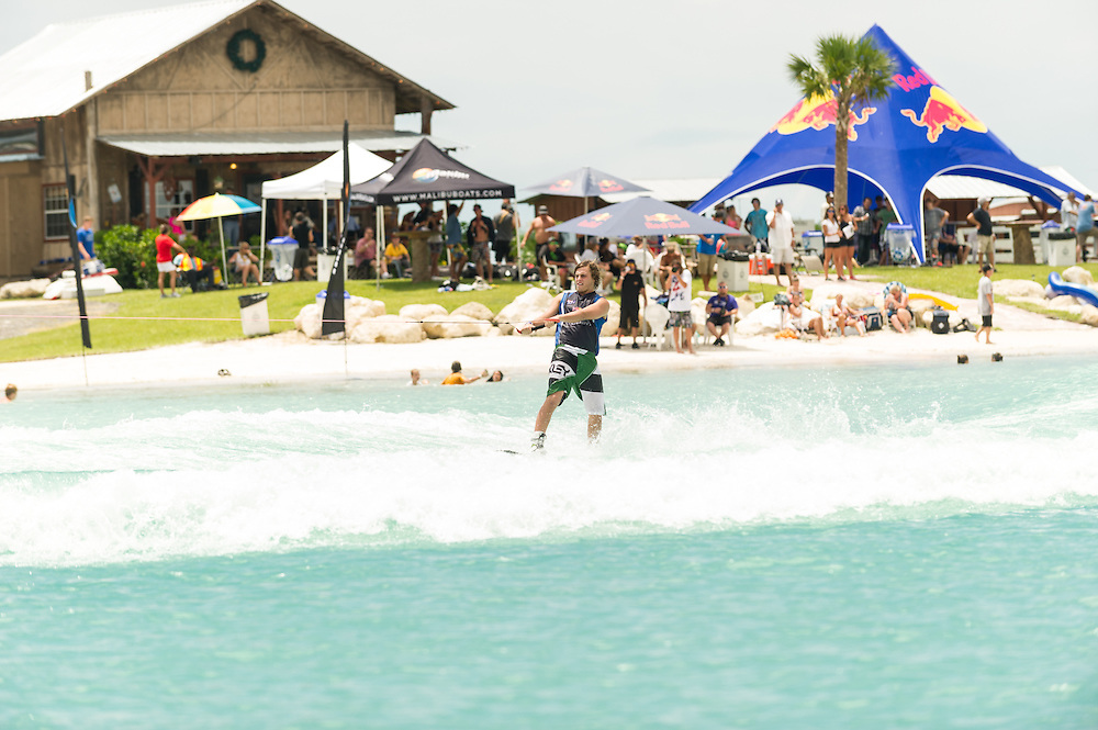 Harley Clifford performs at the Red Bull Wake Open in Tampa Bay, Florida, USA on July 7, 2012