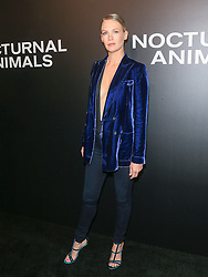 Celebrities are seen attending the special screening of Focus Features' 'Nocturnal Animals' at the Hammer Museum in Los Angeles. 11 Nov 2016 Pictured: January Jones. Photo credit: Bauer Griffin / MEGA TheMegaAgency.com +1 888 505 6342