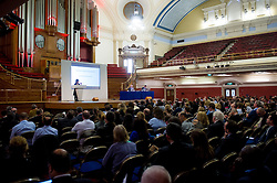 © Licensed to London News Pictures. 23/04/2015. Central Hall Westminster, London, UK. l-r Baroness Helena Kennedy QC speaking at the Vote For Justice Rally, organised by the LCCSA, (London Criminal Courts Solicitor's Association). Photo credit : David Tett/LNP
