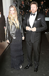 © Licensed to London News Pictures. Amber Le Bon and  Simon Le Bon, attending the London Evening Standard Theatre Awards at the The Savoy Hotel in London, UK on 17 November 2013. Photo credit: Richard Goldschmidt/PiQtured/LNP