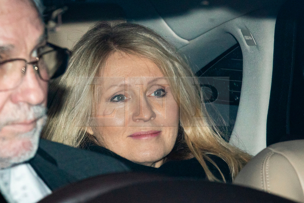© Licensed to London News Pictures. 20/12/2019. London, UK. Minister of State for Housing and Planning Esther McVey leaves parliament after MPs voted to pass Boris Johnson's Withdrawal Agreement Bill. Photo credit: Rob Pinney/LNP