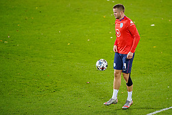 LEUVEN, BELGIUM - Sunday, November 15, 2020: England's Eric Dier during the pre-match warm-up before the UEFA Nations League Group Stage League A Group 2 match between England and Belgium at Den Dreef. (Pic by Jeroen Meuwsen/Orange Pictures via Propaganda)