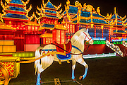 The Magical Lantern Festival gardens at Chiswick House from January 19 until February 26. The gardens arehosting the show which celebrates the Chinese New Year. 2017 is the year of the Rooster. Spread out over 65 acres of the Chiswick House site, there are more than 50 illuminated lanterns. London 17 Jan 2017