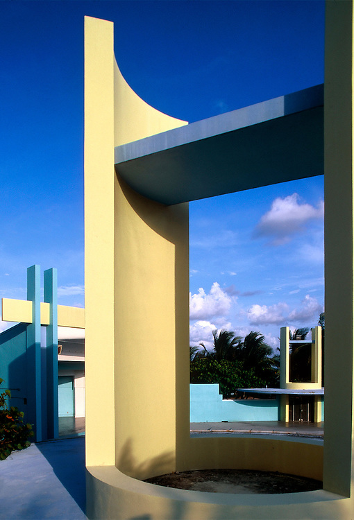 North Beach Bandstand Miami Beach Florida Architect Norman Giller 1964