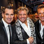 NLD/Amsterdam/20150330 - Premiere Bloed, Zweet en Tranen, de Toppers, Jeroen van der Boom, Rene Froger en Gerard Joling