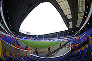 a General of inside White Hart Lane Stadium as the stewards start to go to their positions ahead of k/o. Barclays Premier league match, Tottenham Hotspur v Newcastle Utd at White Hart Lane in London on Sunday 13th December 2015.<br /> pic by John Patrick Fletcher, Andrew Orchard sports photography.