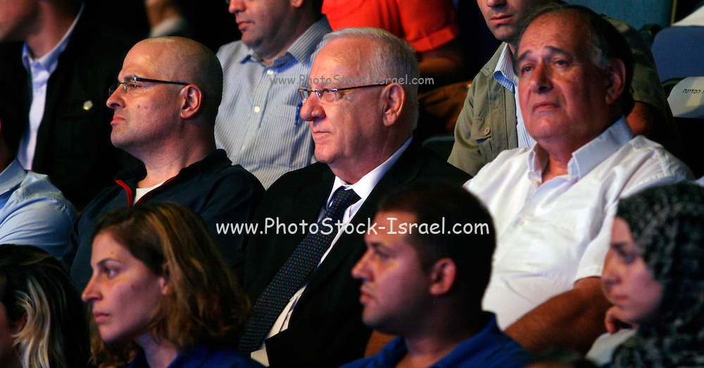 """Reuven """"Rubi"""" Rivlin (born 9 September 1939) is an Israeli politician and lawyer who is the 10th President of Israel since 2014. Photographed August 3 2015"""