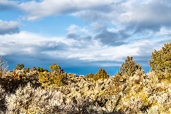 "Lava land landscape of Blackfoot Idaho's ""Hells Half Acre""."