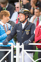 MIchael Jung, (GER), - Jumping Eventing - Alltech FEI World Equestrian Games™ 2014 - Normandy, France.<br /> © Hippo Foto Team - Jon Stroud<br /> 31-08-14