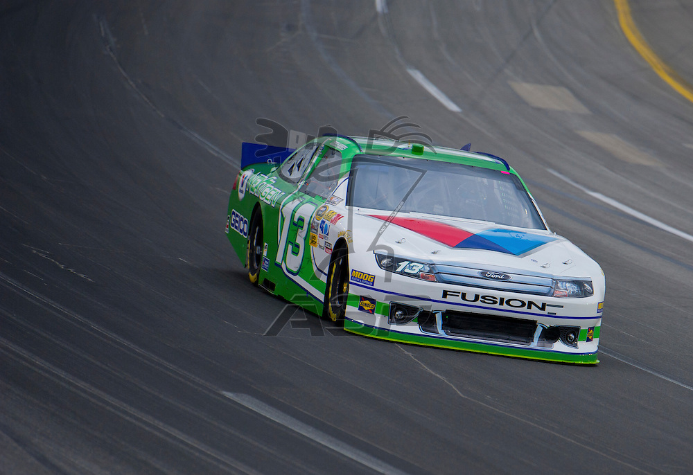 Sparta, KY - JUN 29, 2012: Casey Mears (13) during qualifying for the Quaker State 400 at Kentucky Speedway in Sparta, KY.