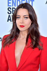 February 8, 2020, Santa Monica, Kalifornien, USA: Aubrey Plaza bei der 35. Verleihung der Film Independent Spirit Awards 2020 im Zelt am Santa Monica Beach. Santa Monica, 08.02.2020 (Credit Image: © Future-Image via ZUMA Press)