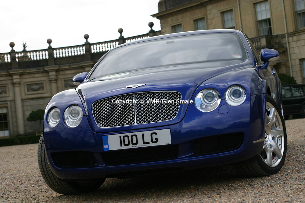 2007 Bentley Continental GT, Clivedon House Bucks