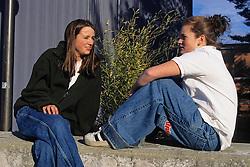 Taylor & Lynsie In Jnco Jeans