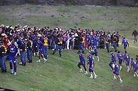 Fotball<br /> Bråk i Frankrike<br /> VM 2010<br /> 20.06.2010<br /> Foto: imago/Digitalsport<br /> NORWAY ONLY<br /> <br /> NB: DISSE BILDENE INNGÅR IKKE I NOEN FASTAVATLER. ALL BRUK VIL BLI FAKTURERT IHT GJELDENDE SATSER<br /> <br /> Clash durant l entrainement de l equipe de France - Les joueurs viennent a la rencontre du public avant le clash et qu ils quittent le terrain - Fields of Dreams - Knysna - 20-06-10