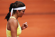Roland Garros 2011. Paris, France. May 27th 2011..German player Julia GOERGES against Marion BARTOLI
