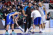 DESCRIZIONE : Eurocup 2014/15 Last32 Dinamo Banco di Sardegna Sassari -  Banvit Bandirma<br /> GIOCATORE : Dani Hierrezuelo David Logan<br /> CATEGORIA : Fair Play<br /> SQUADRA : Dinamo Banco di Sardegna Sassari<br /> EVENTO : Eurocup 2014/2015<br /> GARA : Dinamo Banco di Sardegna Sassari - Banvit Bandirma<br /> DATA : 11/02/2015<br /> SPORT : Pallacanestro <br /> AUTORE : Agenzia Ciamillo-Castoria / Luigi Canu<br /> Galleria : Eurocup 2014/2015<br /> Fotonotizia : Eurocup 2014/15 Last32 Dinamo Banco di Sardegna Sassari -  Banvit Bandirma<br /> Predefinita :