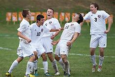 2012 NJSIAA Group 1 South Boys Soccer 1st Round: Clayton at Pitman - November 1, 2012