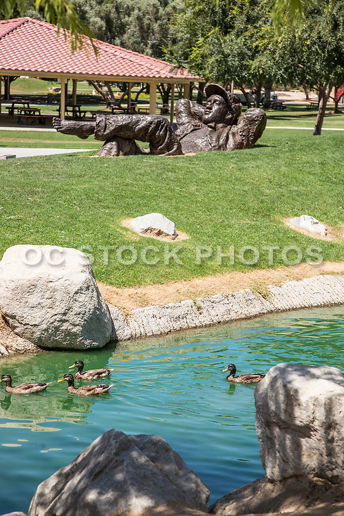 Dreamer Statue at Palm Desert Civic Center Park