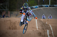 #235 (BENSINK Niels) NED at the 2014 UCI BMX Supercross World Cup in Santiago Del Estero, Argentina.