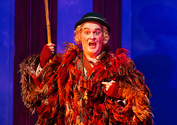 The Magic Flute <br /> Music by Mozart <br /> Welsh National Opera, Wales Millennium Centre, Cardiff, Wales, Great Britain <br /> 13th February 2019 <br /> Directed by Dominic Cooke <br /> <br /> <br /> Mark Stone as Papageno<br /> <br /> Photograph by Elliott Franks
