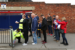 Fan's are searched on the way into the game