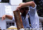 Kutztown PA Dutch Festival, Berks Co PA, Crafts, Bee Keeper's Demonstration