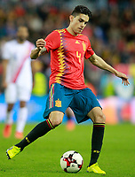 Spain's Marc Bartra during international friendly match. November 11,2017.(ALTERPHOTOS/Acero)
