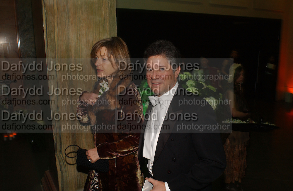 flora and Peter Soros. Belle Epoche gala fundraising dinner. National Gallery. 16 March 2006. ONE TIME USE ONLY - DO NOT ARCHIVE  © Copyright Photograph by Dafydd Jones 66 Stockwell Park Rd. London SW9 0DA Tel 020 7733 0108 www.dafjones.com
