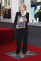 5/6/2011 Jane Morgan Weintraub poses during her Hollywood Walk of Fame ceremony