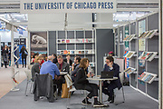 The University of Chicago Press during day three of the London Book Fair on the 14th March 2019 at London Olympia in the United Kingdom.