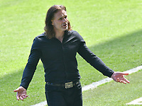 Football - 2020 / 2021 Sky Bet Championship - Swansea City vs Wycombe Wanderers - Liberty Stadium<br /> <br /> Gareth Ainsworth Wycombe Wanderers manager on the touchline<br /> <br /> COLORSPORT/WINSTON BYNORTH