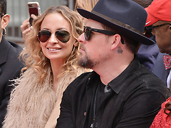(L-R) Nicole Richie and Joel Madden at the Lionel Richie Hand and Footprint Ceremony held at the TCL Chinese Theatre in Hollywood, CA  on Wednesday, March 7, 2018. (Photo By Sthanlee B. Mirador/Sipa USA)