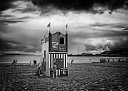 Punch and Judy Show, Weymouth Beach, Dorset, England - August 2019