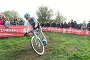 Belgium, November 1 2017:  Toon Aerts (Telenet-Fidea Lions) during the 2017 edition of the Koppenbergcross elite men's race. Aerts was second in the race, 12 seconds down to Mathieu van der Poel. Copyright 2017 Peter Horrell.