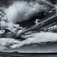 MT Clouds 2<br /> eddited & converted to B&W 7/30/18 Printed 8/04/18, signed & numbered 1/1