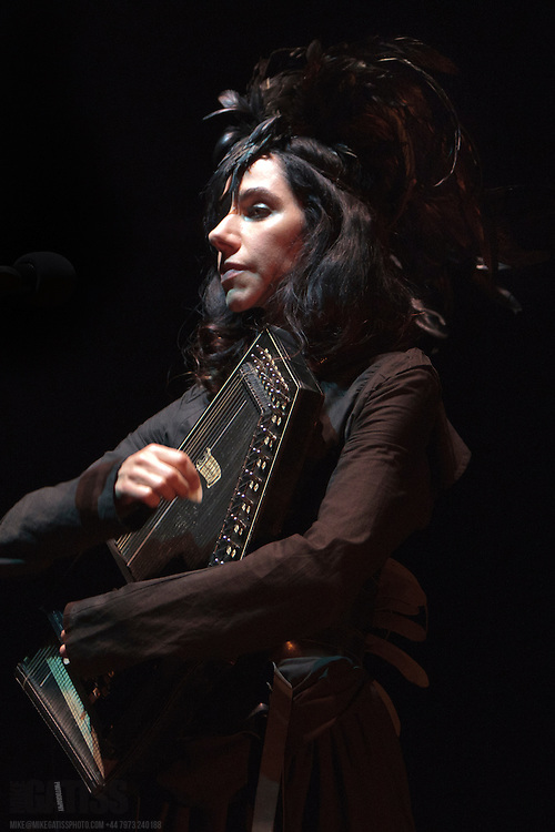 ouble Mercury Music Prize winner, PJ Harvey  performing live on the first night of her UK Tour at the O2 Apollo, Manchester, 2011-09-08