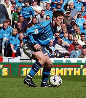 Fotball. Nationwide Division One. England. 06.04.2002.<br /> Manchester City v Barnsley. <br /> Jon Macken, Manchester City.<br /> Foto: Robin Parker, Digitalsport