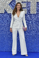 May 20, 2019 - London, United Kingdom - Elizabeth Hurley seen during the Rocketman UK Premiere at the Odeon Luxe Leicester Square in London. (Credit Image: © James Warren/SOPA Images via ZUMA Wire)