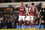 Mark Noble of West Ham United in action. Barclays Premier league match, Tottenham Hotspur v West Ham Utd at White Hart Lane in London on Sunday 22nd November 2015.<br /> pic by John Patrick Fletcher, Andrew Orchard sports photography.
