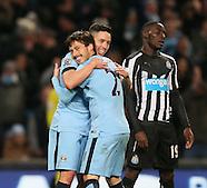 210215 Manchester City v Newcastle Utd