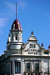 AUSTRALIA VICTORIA MARYBOROUGH 12FEB08 - Facade of the Bull & Mouth hotel in Maryborough, a former goldmining town in the central Victorian goldfields, Australia...jre/Photo by Jiri Rezac..© Jiri Rezac 2008..Contact: +44 (0) 7050 110 417.Mobile:  +44 (0) 7801 337 683.Office:  +44 (0) 20 8968 9635..Email:   jiri@jirirezac.com.Web:    www.jirirezac.com..© All images Jiri Rezac 2007 - All rights reserved.
