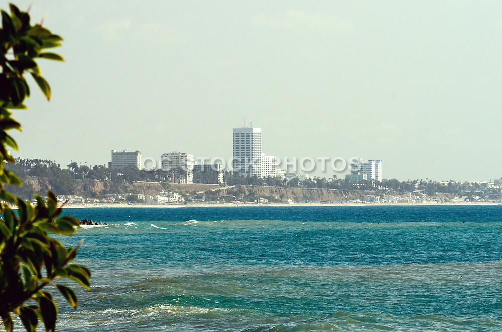 Hazy Santa Monica Skyline